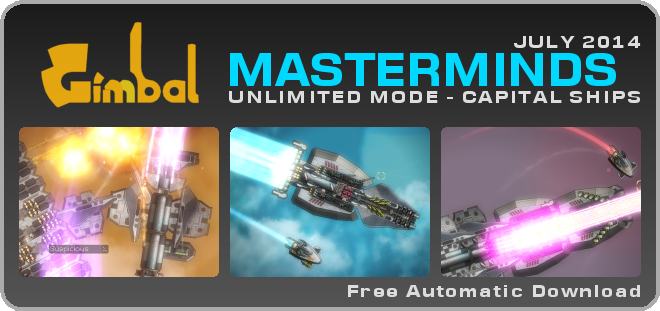 Gimbal Mastermind Patch : UNLIMITED MODE - CAPITAL SHIPS